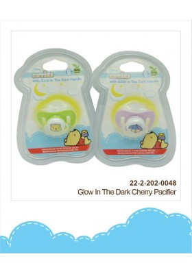 Disney Cuties Pacifier with Glow in the Dark Handle 0m+