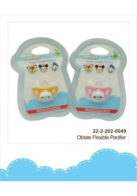 Disney Cuties Oblate Flexible Pacifier 0m+