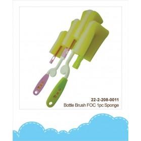 Disney Cuties Bottle Brush free 1pc Exchangeable Sponge