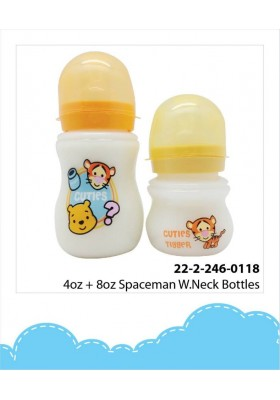 DIsney Cuties Wide Neck Bottle 4oz+8oz
