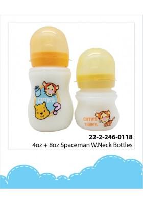 DIsney Cuties Wide Neck Bottle 4oz+8oz