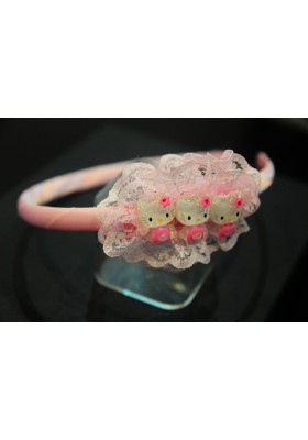 CUTIE HELLO KITTY HAIR BAND - KT04