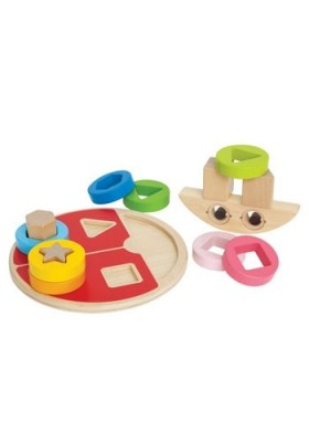 Hape Ladybug Shape Sorter 12 months and up