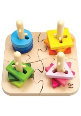 Hape Creative Peg Puzzle 18 months and up