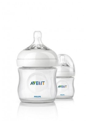 Philips Avent Bottle Natural 2 x 4oz / 125ml (Twin)
