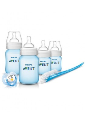 Philips Avent Classic + Plus Blue Newborn Starter Set - Free Shipping