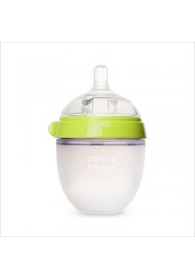 Comotomo Natural Fee Baby Bottle 5oz / 150ml Pink/ Green