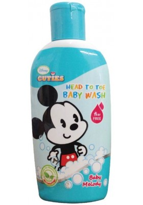 Disney Cuties Head-to-Toe Baby Wash 100ml - Baby Melody (Tear Free)
