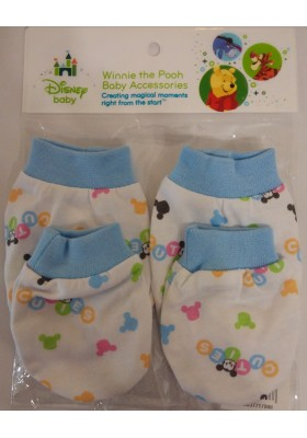 Disney Cuties Mittens and Booties set