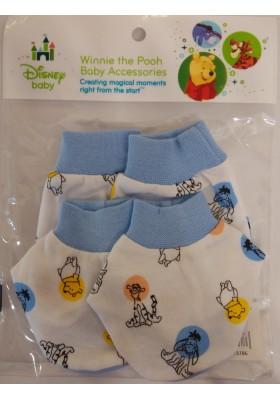 Disney Cuties Mittens and Booties set