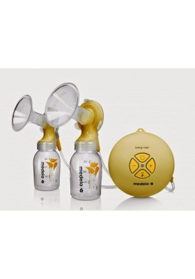 Medela Swing Maxi Breastpump + Boon Warmer + Kiinde Twist Pouches