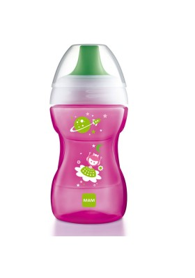 MAM Learn to Drink Cup 270ml Blue / Pink / Yellow