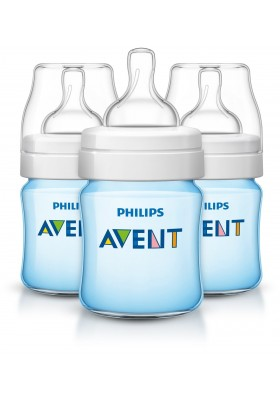 Philips Avent Classic + Plus Bottles 4oz / 150 ml (PINK/BLUE) Single Loose Pack