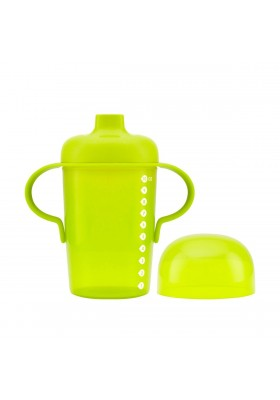 Boon Sip Tall Firm Spout Sippy Cup 10oz Orange/Green