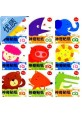 Kids  Sticker Activities Workbook (IQ/EQ/CQ) 2-5Y-9Books