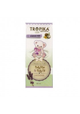 Tropika Baby Hair & Body Oil Aroma Lavender 125ml