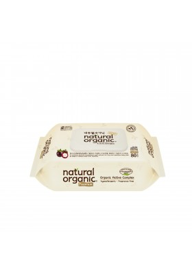 Natural Organic Baby Premium Wipes with CAP (80 sheets)