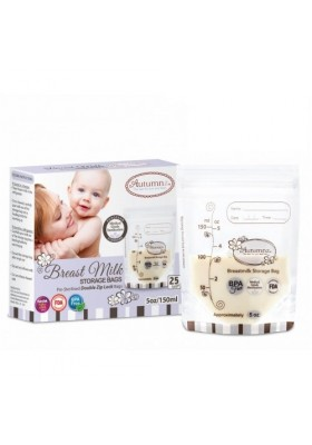 Autumnz Zip Lock Breastmilk Storage Bag 5oz