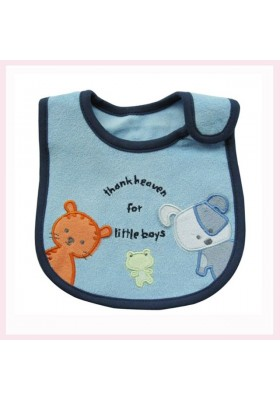 Carter's Bib- Thank Heaven for little boys