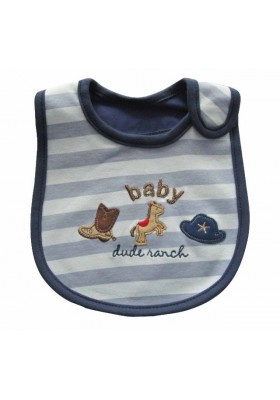 Carter's Bib - Baby Dude Ranch