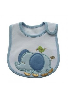 Carter's Bib - Elephant & Bird