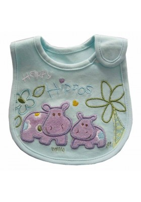 Carter's Bib - Happy Hippo