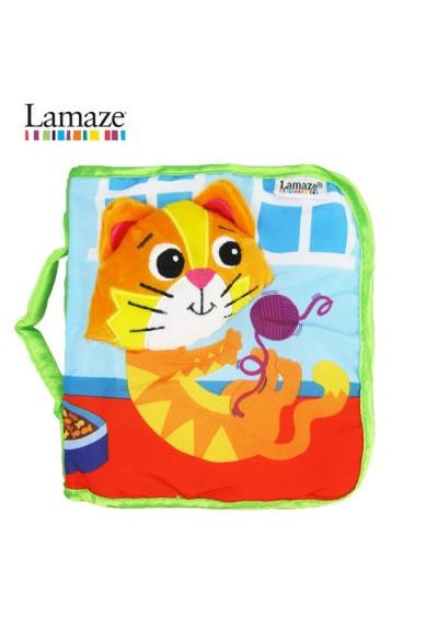 Lamaze Mittens The Kitten Cloth Book