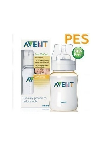 Avent PES Feeding Bottle (260ml/9oz) Single Pack