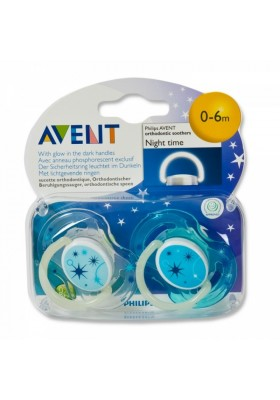 Phillips Avent Night Glow Soother 0-6m