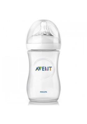 Philips AVENT Natural Range 260ml (9oz) x 1 Feeding Bottle-Loose Pack