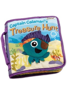 Lamaze Infant Baby Kids Captain Calamari's Hunt Cloth Book Developmental Toys