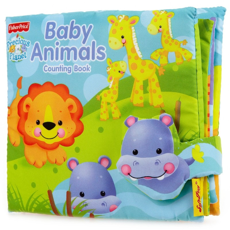 SoftPlay Fisher-Price Precious Planet Counting Book Baby Animals