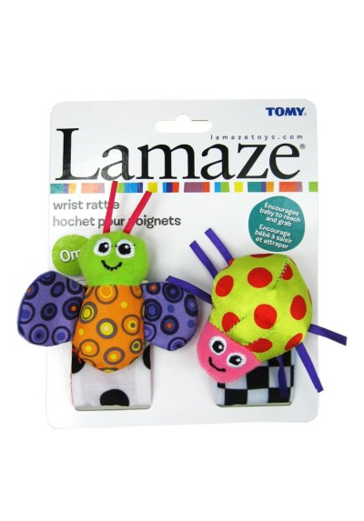 Lamaze Wrist Rattles Set Original Packing
