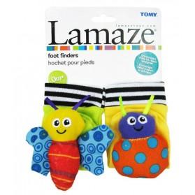 Lamaze High Contrast Foot Finders Original Packing