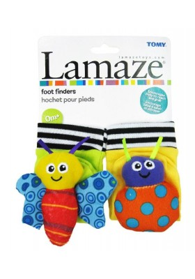 Lamaze High Contrast Foot Finders Original Packing