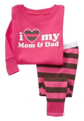 BabyGap Pyjamas 2-7T  I Love My Mom & Dad