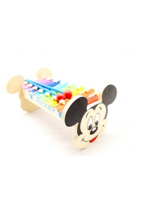 Mickey Wooden Xylophone 8 Notes