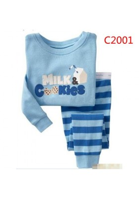 BabyGap Pyjamas 2T to 7T Milk & Cookies