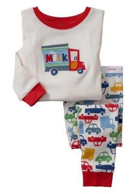 BabyGap Pyjamas 18-24m to 6T Milk Lorry