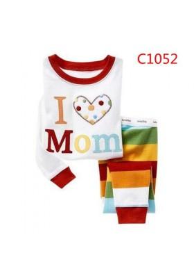 BabyGap Pyjamas 2T to 7T I Love Mom