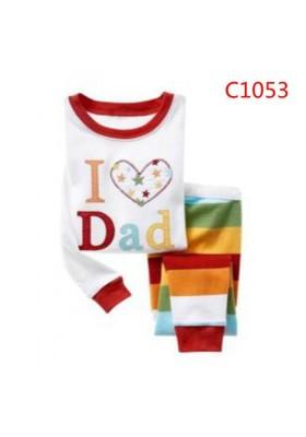 BabyGap Pyjamas 2T to 7T I Love Dad