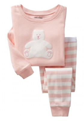 BabyGap Pyjamas 2T to 7T Pink Bear