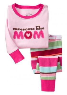 BabyGap Pyjamas 2T to 7T Awesome Like Mom