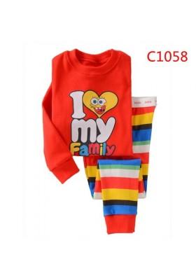 BabyGap Pyjamas 2T to 7T I Love My Family