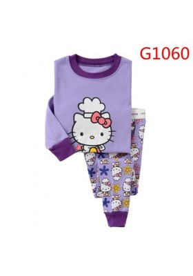 BabyGap Pyjamas 3T Purple Kitty