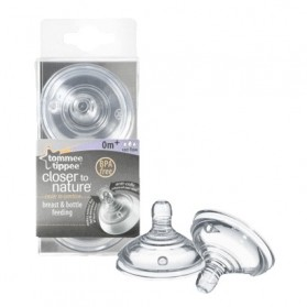 Tommee Tippee Closer to Nature Variflow Flow Teats twin pack