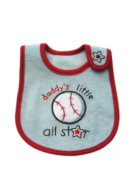 Carter's Bib - Daddy Little's All Star