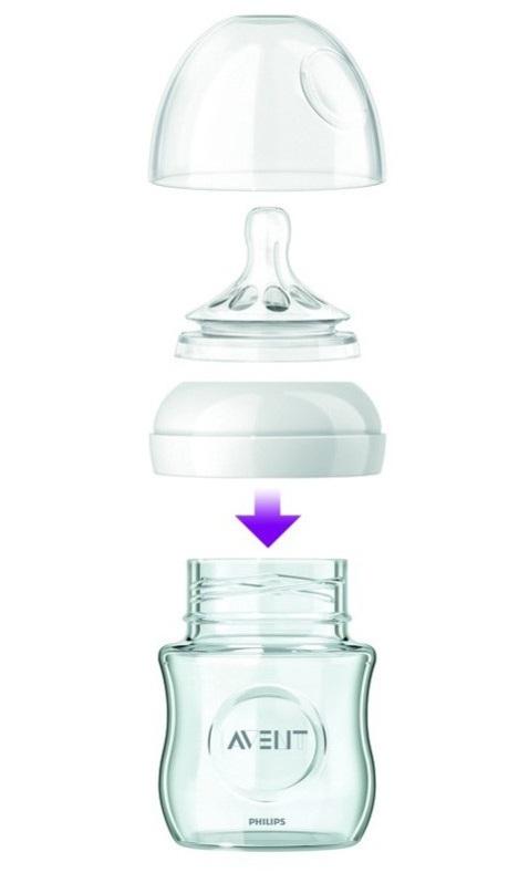 avent glass bottle