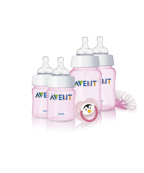 Philips AVENT Newborn Pink Starter Set