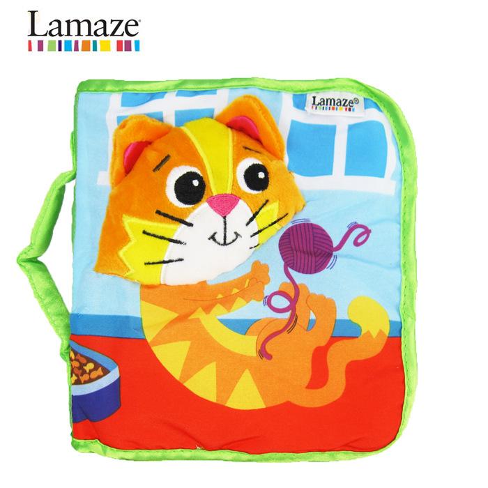 lamaze kitten cloth book
